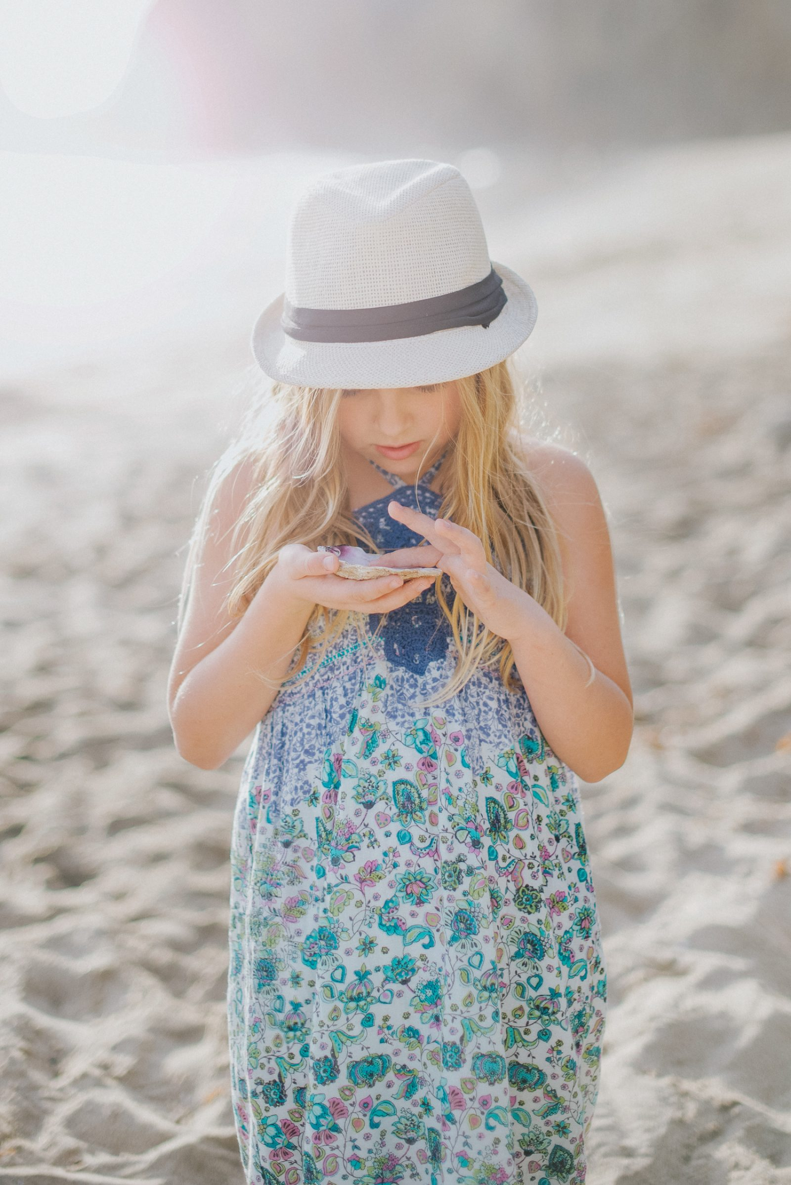 Afternoon at the Beach | Orange County Family Photographer