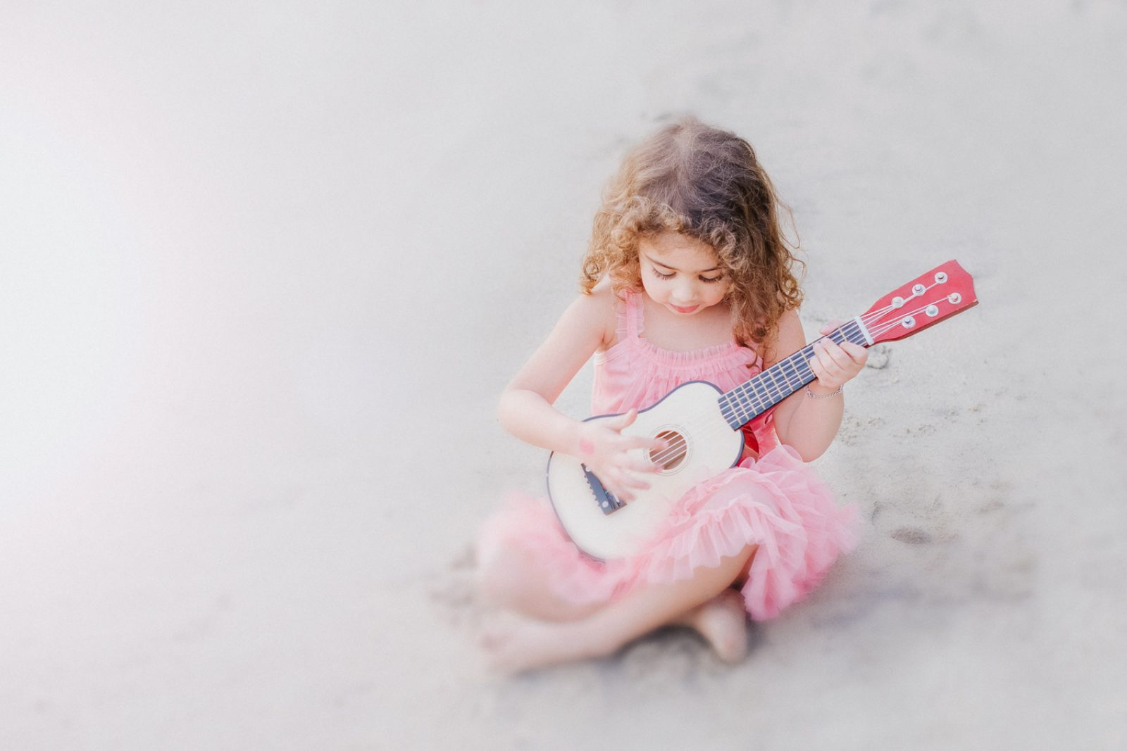 Ukulele Love | Laguna Beach Natural Light Photographer