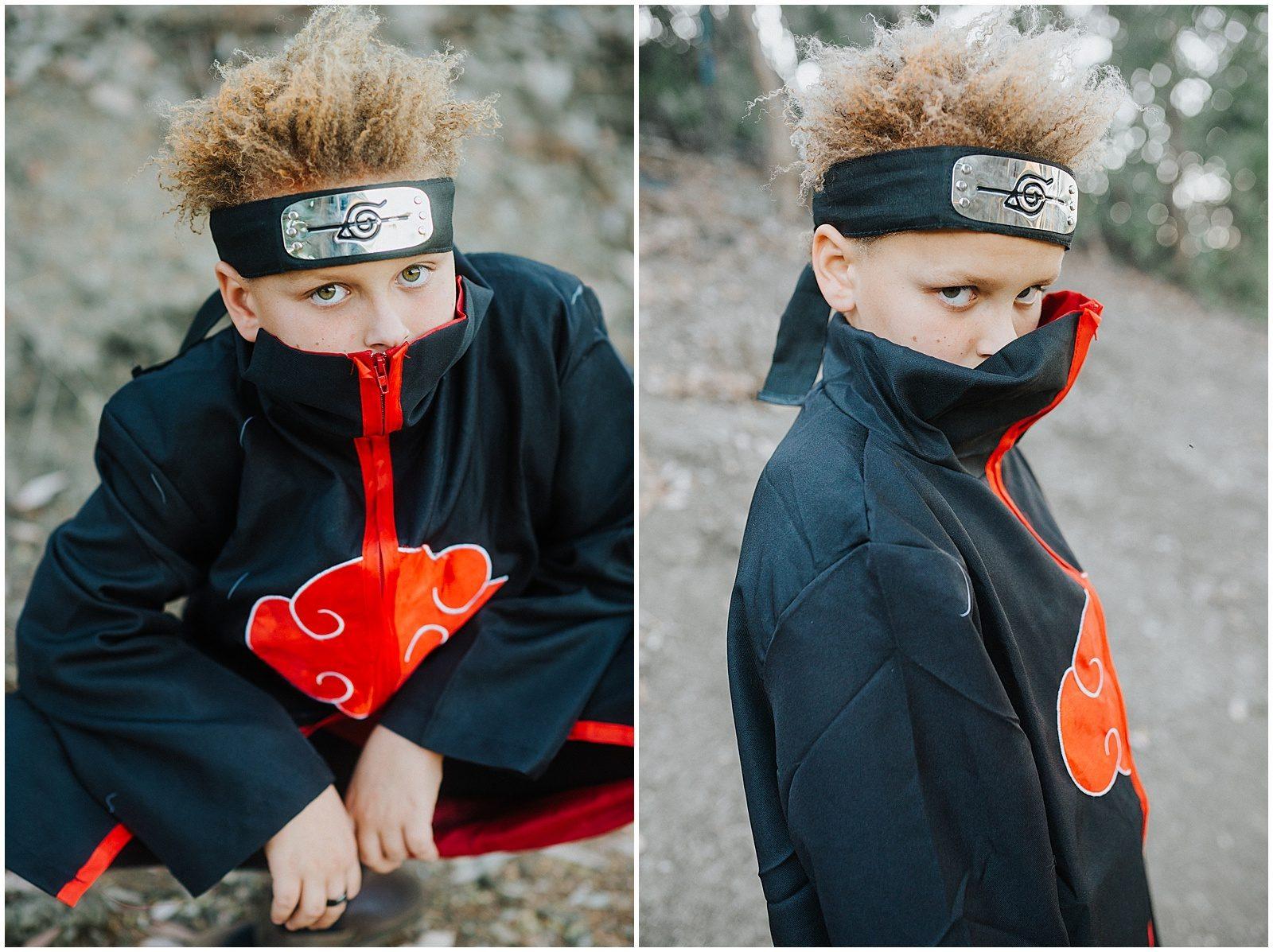 Orange County Family Photographer Anime Costume 0252