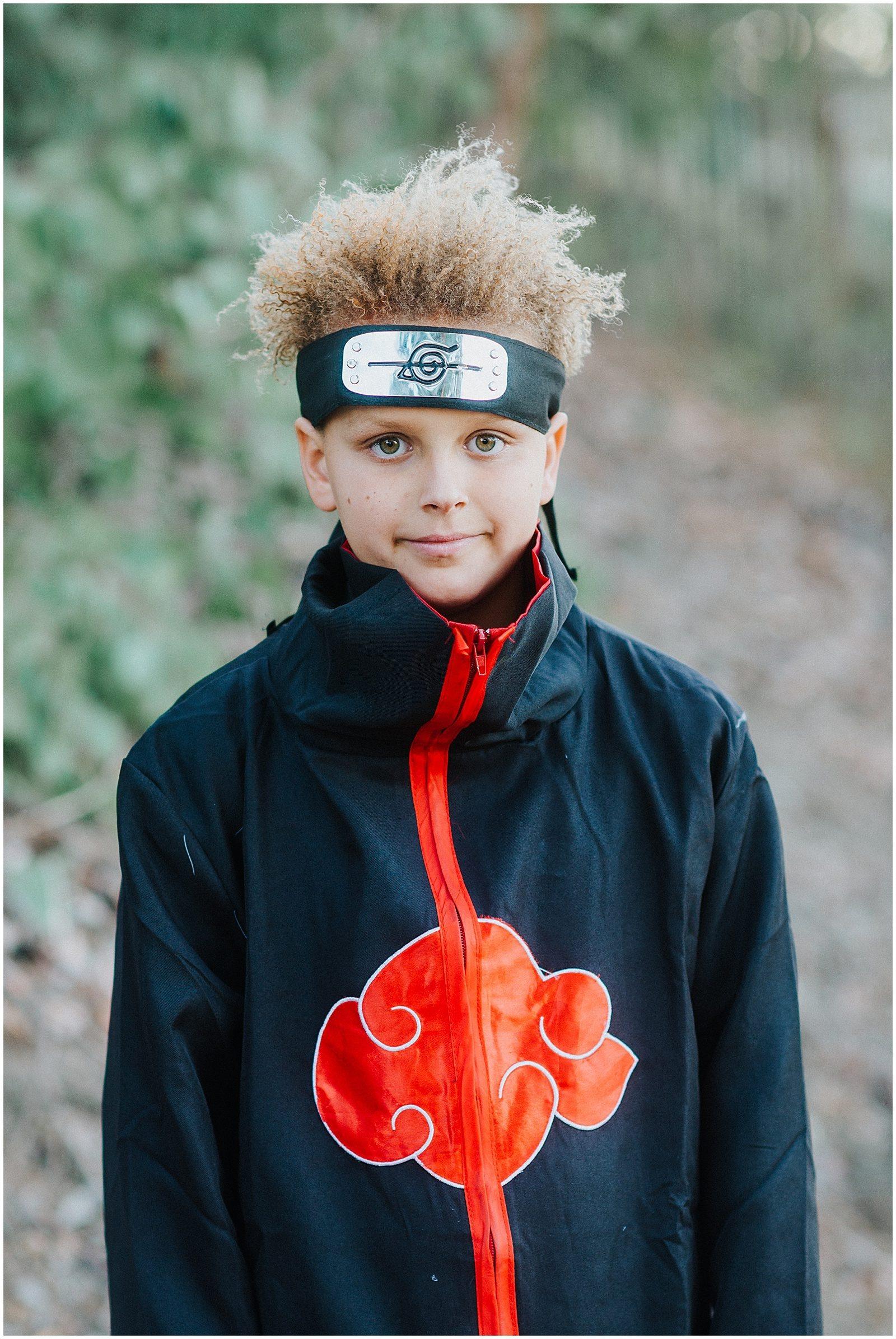 Orange County Family Photographer Anime Costume 0253