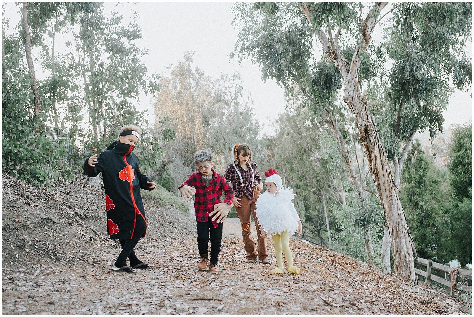Orange County Family Photographer Halloween Costumes 0254