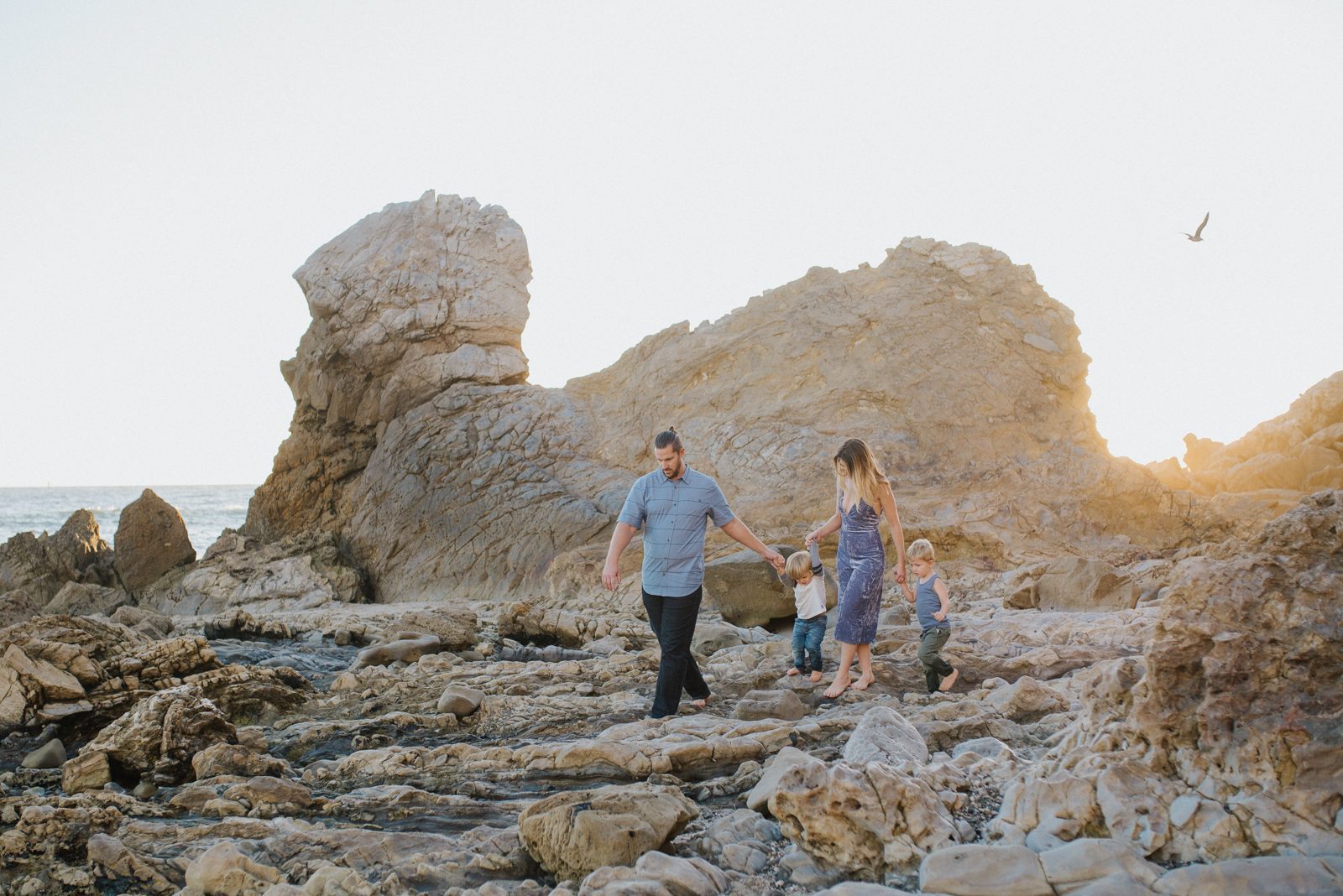 Exploring Little Corona | Orange County Family Photographer