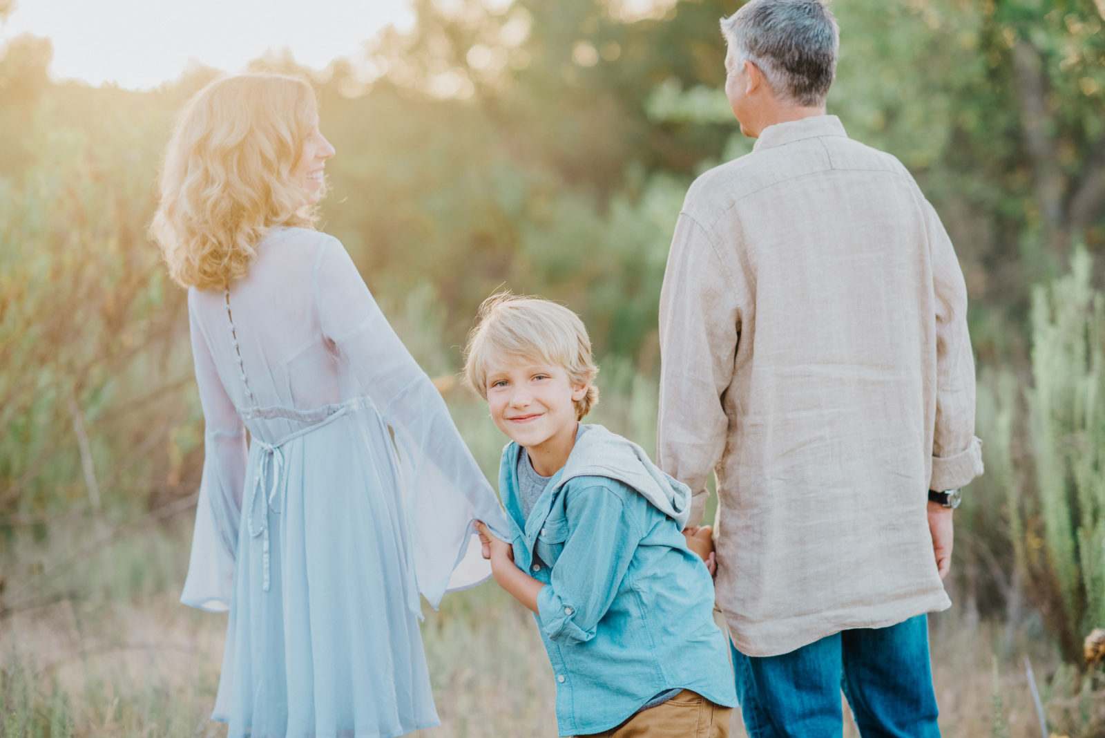 Golden California Field | Orange County Family Photographer
