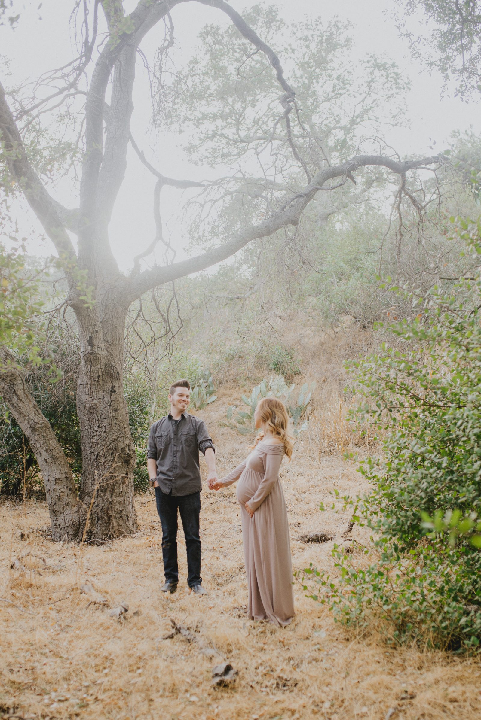 Magical Forest | Orange County Maternity Photographer