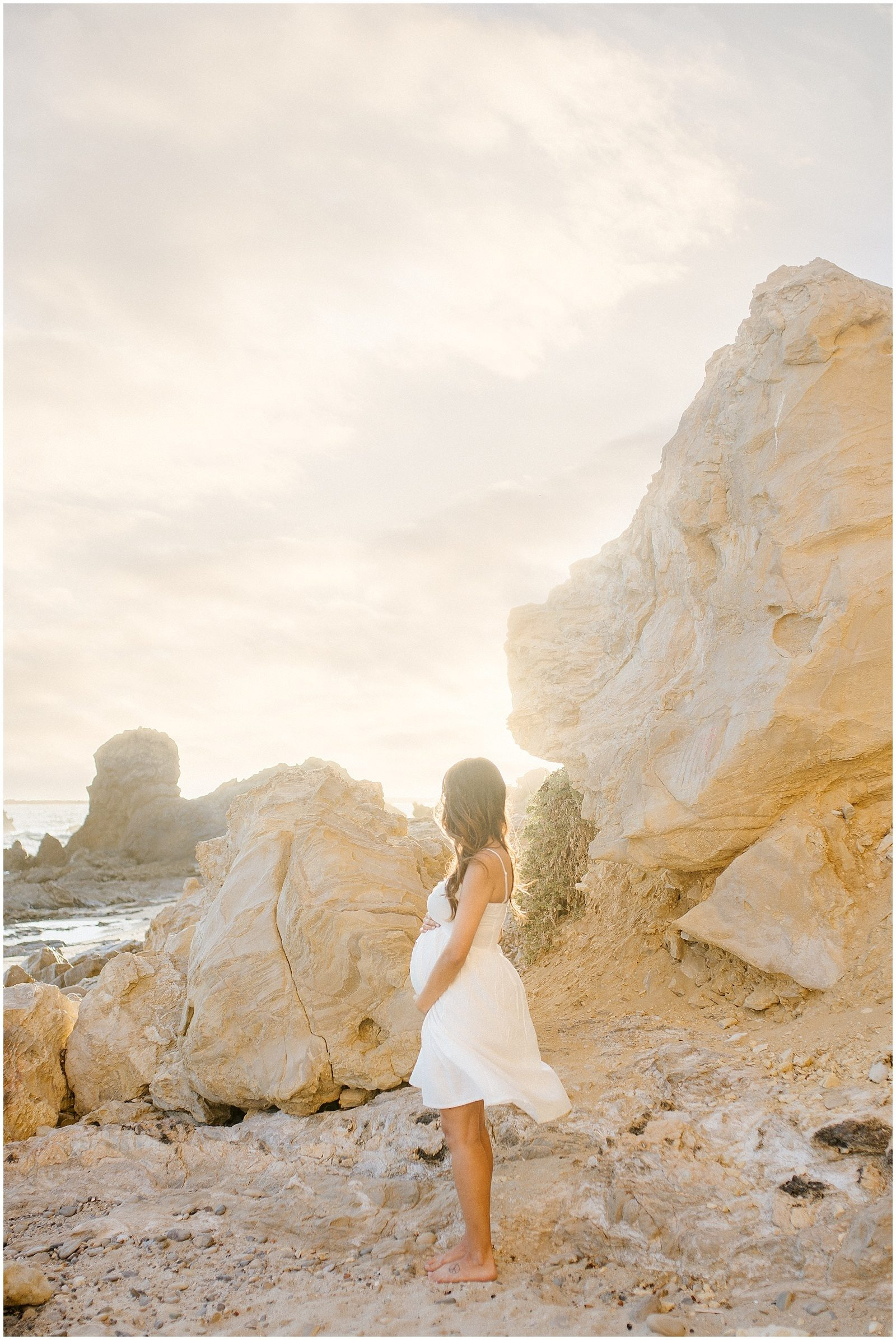 Seaside Maternity Session | Orange County Maternity Photographer