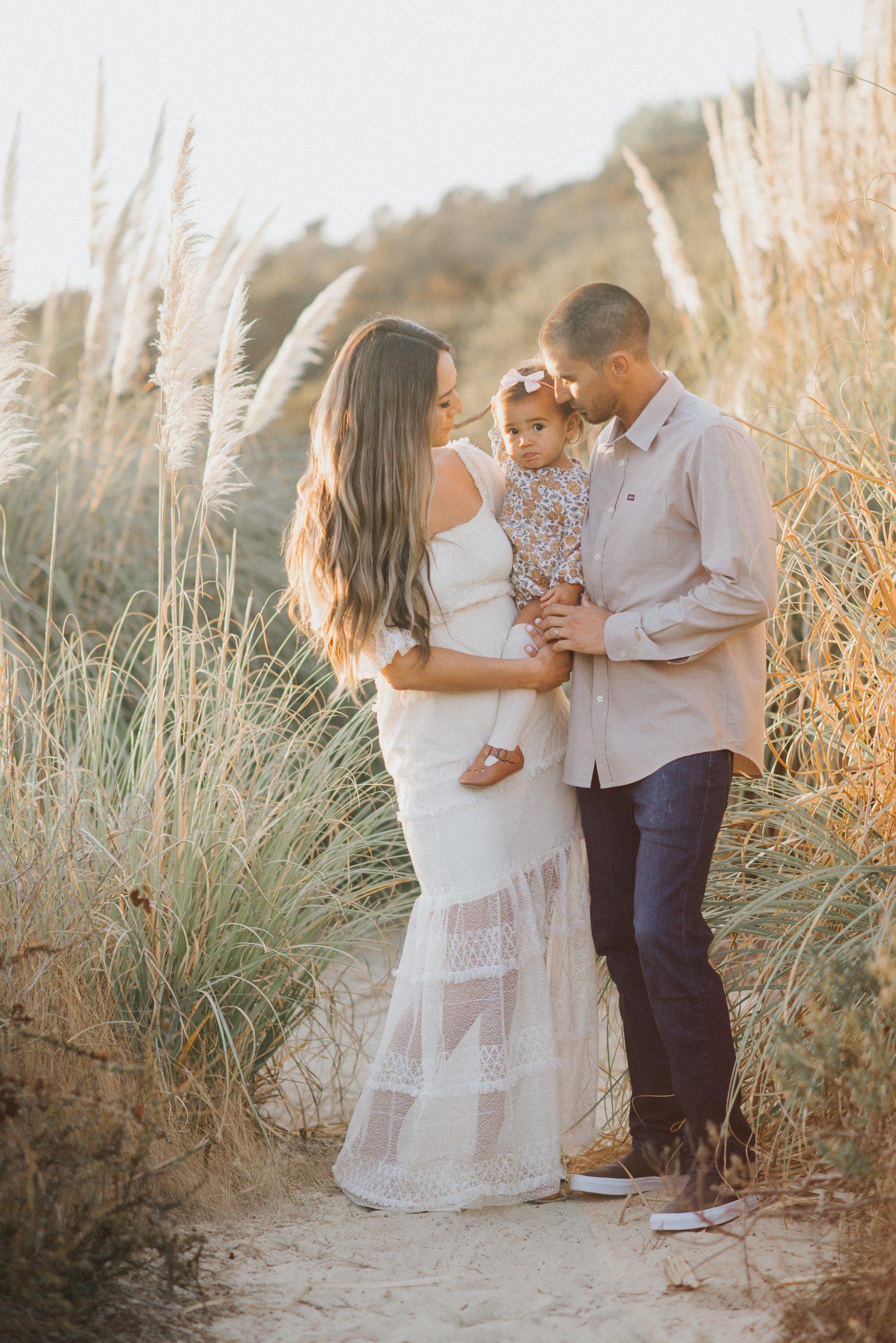 Family of Three   Orange County Family Photography